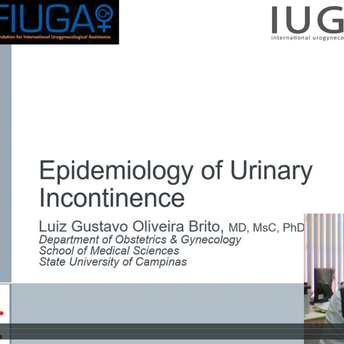 Epidemiology of Urinary Incontinence