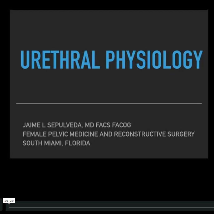 Urethral Physiology